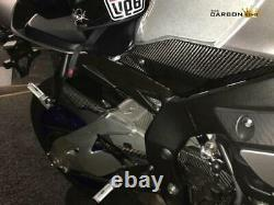 Yamaha R1 2015 Mt10 2016 Carbon Rear Hugger Twill Gloss Weave Mudguard Fibre