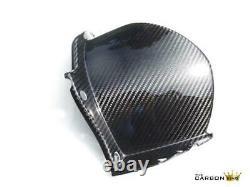 Yamaha R1 Carbon Rear Hugger 2009-14 Mudguard In Twill Gloss Weave Fiber Fibre