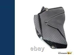 Yamaha R1 Carbon Sprocket Cover In Twill Gloss Weave 2009-14 Fibre Fiber