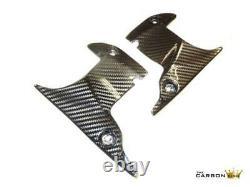 Yamaha R1 Carbon Upper Fairing Dash Panels 2007 2008 In Twill Gloss Weave Fibre
