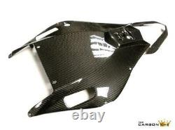 Yamaha R6 2006-2007 Carbon Fibre Rear Undertray Tail Unit In Twill Gloss Weave