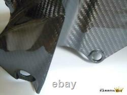 Yamaha Yzf R6 Carbon Front Mudguard In Twill Gloss Weave 2006-16 Fibre Fender