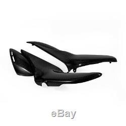 100% Fibre De Carbone Pleine Panneaux Latéraux Brillant Twill Pour Kawasaki Z900rs