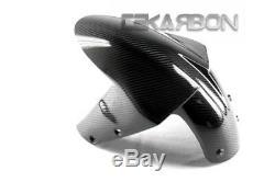 2005 2006 Kawasaki Zx6r / Zx10r En Fibre De Carbone Avant Fender 2x2 Sergé