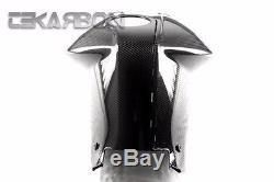 2005 2012 Bmw K1200r / K1300r Couverture De Réservoir En Fibre De Carbone 2x2 Sergé Tisse