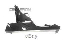 2006 2007 Honda Cbr1000rr Fibres De Carénage Inférieur En Fibre De Carbone 2x2 Twill Weave