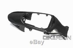 2006 2007 Suzuki Gsxr 600/750 Carbon Fiber Tail Carénage 2x2 Sergé