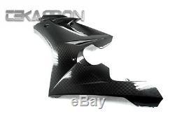 2006 Revêtements Triumph Daytona 675 En Fibre De Carbone Grand Côté 2x2 Twill