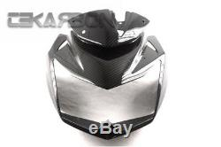 2007 2011 Kawasaki Z750 En Fibre De Carbone Nassau V39 Avec Des Trous Sergé 2x2