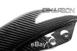 2007 2011 Kawasaki Z750 / Z1000 07 09 Fibre De Carbone Panneaux Latéraux Twill 2x2