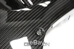 2007 2012 Honda Cbr600rr En Fibre De Carbone Grand Carénages Latéraux 2x2 Weave Sergé