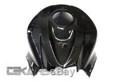 2007 2012 Honda Cbr600rr En Fibre De Carbone Réservoir Fuel Gas Cover 2x2 Weave Sergé
