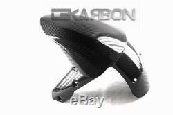 2008 2009 2010 Kawasaki Zx10r Garde-boue Avant En Fibre De Carbone 2x2 Twill