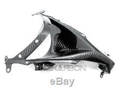 2008 2009 Kawasaki Zx10r Carbon Fiber Nose Fairing 2x2 Twill Tisse