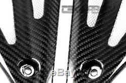 2008 2010 Triumph Speed triple Fibre De Carbone Panneaux Latéraux Réservoir 2x2 Sergé