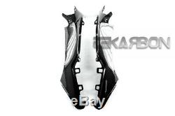 2008 2011 Honda Cbr1000rr Carénages Avant En Fibre De Carbone 2x2 Twill