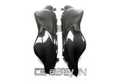 2008 2013 Suzuki Gsx1300r Hayabusa Panneaux Latéraux En Fibre De Carbone Sergé 2x2