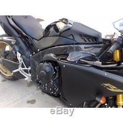 2009-2013 Yamaha Yzf-r1 Lacomoto Twill 100% Couvercles En Fibre De Carbone 14b