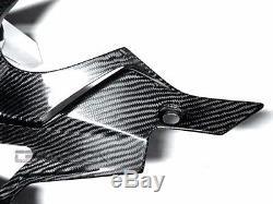 2009 2014 Bmw S1000rr / Hp4 Carénages Inférieurs En Fibre De Carbone Armure Sergé 2x2