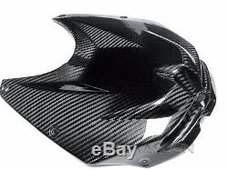 2009 2014 Bmw S1000rr / Hp4 Couverture De Réservoir Avant En Fibre De Carbone 2x2 Sergé
