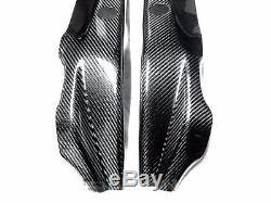 2009 2014 Bmw S1000rr / Hp4 Couvre-cadre En Fibre De Carbone 2x2 Sergé