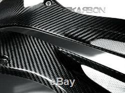 2009 2014 Bmw S1000rr / Hp4 En Fibre De Carbone Panneaux Latéraux Réservoir 2x2 Twill Tissages