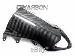 2009 2014 Bmw S1000rr / Hp4 Pare-brise En Fibre De Carbone 2x2 Sergé