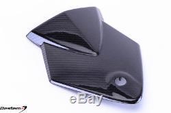 2009-2014 Bmw S1000rr S1000r Couvercle De Siège Arrière Cowl Twill 100% Fibre De Carbone