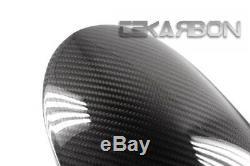 2009 2015 Kawasaki Zx6r / Zx10 (11-15) En Fibre De Carbone Avant Fender Twill 2x2