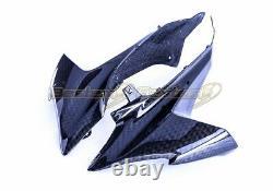 2009-2016 Tête En Fibre De Carbone Capot Side Panneaux Twill Weave Pour Suzuki Gsxr 1000