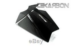 2011 2012 2013 Yamaha Fz8 En Fibre De Carbone Cowl Seat 2x2 Twill Tissages