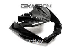 2011 2012 Kawasaki Z750r Carénage Avant En Fibre De Carbone 2x2 Sergé