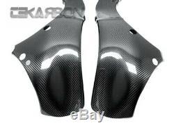 2011 2015 Kawasaki Ninja Zx10r En Fibre De Carbone Couvre Cadre 2x2 Sergé