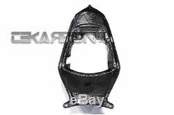 2011 2015 Suzuki Gsxr 600 750 Carbon Fiber Tail Carénage 2x2 Sergé Tisse
