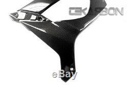 2011 2019 Kawasaki Zx10r En Fibre De Carbone Grand Carénages Latéraux 2x2 Sergé Tissages