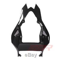 2012 2013 2014 2014 Bmw S1000rr / Hp4 Supérieur Arrière Tail Housse De Selle Twill Carbon Fiber