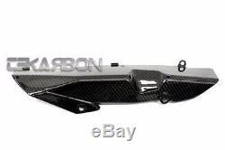 2012 2013 2014 2015 Protecteur De Chaîne Inférieur En Fibre De Carbone Yamaha Tmax 530 2x2 Sergé