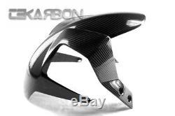 2012 2015 Ktm Duke 690 Fibre De Carbone Front Fender 2x2 Twill Tisse