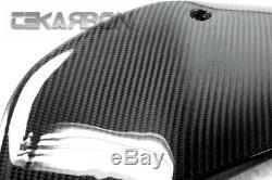 2012 2015 Ktm Duke 690 Panneaux De Réservoir En Fibre De Carbone Tissage De Tissu 2x2