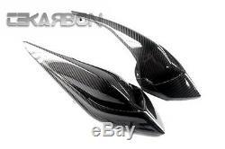 2012 2015 MV Agusta Brutale 675 Carbon Fiber Tail Carénages Latéraux Sergé 2x2