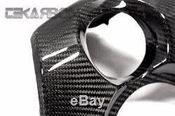 2012 2015 Yamaha Tmax 530 Carbon Fiber Protège-clés 2x2 Sergé