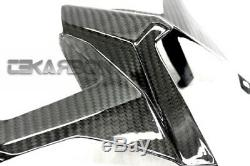 2012 2015 Yamaha Tmax 530 Carbon Fiber Tail Top Sous Carénage Sergé 2x2