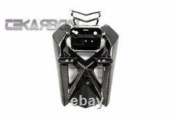 2012 2015 Yamaha Tmax 530 Porte-plaques D'immatriculation En Fibre De Carbone 2x2 Twill