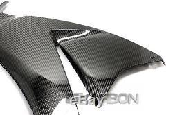2012 2016 Honda Cbr1000rr Carénages Latéraux En Fibre De Carbone, Grands Tissages 2x2 Sergé