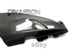2012 2016 Honda Cbr1000rr Fibres De Carénage Inférieur En Fibre De Carbone 2x2 Armures Sergé