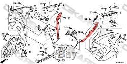 2012 2016 Honda Cbr1000rr Panneaux De Carénage Latéraux En Fibre De Carbone 2x2 Sergé Tisse