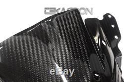2013 2016 Kawasaki Zx6r Carbon Fiber Nose Carénage 2x2 Twill Tisse