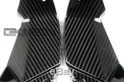 2013 2016 Kawasaki Zx6r En Fibre De Carbone Couvertures D'admission D'air 2x2 Twill Tissages