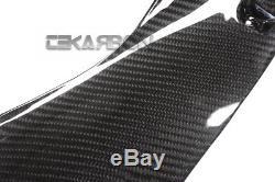 2013 2016 Kawasaki Zx6r Panneaux Latéraux Intérieurs En Fibre De Carbone 2x2 Twill Weaves