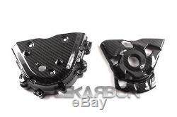 2014 2016 Kawasaki Z1000 Carbon Fiber Sprocket Cover 2x2 Twill Weave